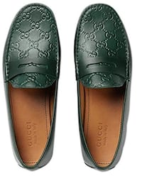 Pair of brown leather loafers Hialeah, 33015
