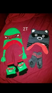 toddler beanies and matching mittens San Antonio, 78228