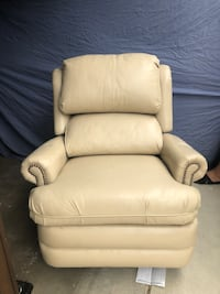 Pair of Leather Swivel Chairs  Lancaster, 93535