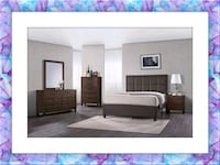 Brown Bedroom Set Brand New with Mattress Silver Spring, 20906