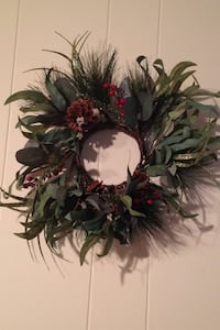 Christmas Sale:  2 Artificial Wreaths and Table Centerpiece  Fairfax Station, 22039