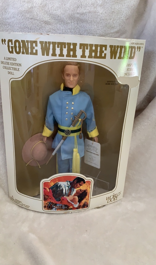 Photo Gone with the Wind-Collectible Doll (Ashley Wilkes)