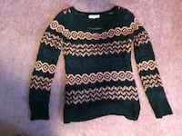 Black and pink knit sweater Fairview, 16415