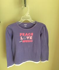 Girls size 8 Gymboree purple top Centreville, 20120