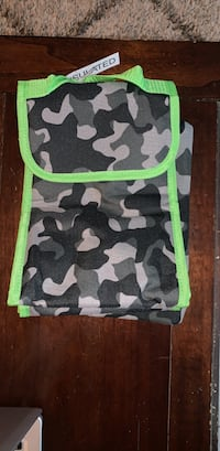 Camouflage lunch bag , tablet pouch & pencil/marker holder Thousand Oaks, 91362