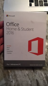 2016 Office Home & Student new in box  Calgary, T2G 0H1