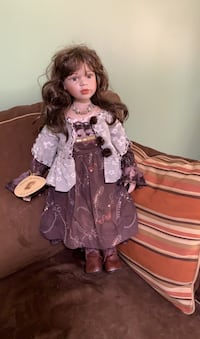 2' Tall Porcelain Doll - New Springfield, 22153