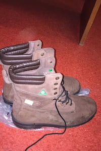 New size 13 steel toe boots! 40.00 Delta, V4C 2J5