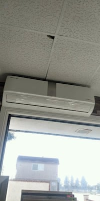 Mini split a.c. with heaters. Air conditioner