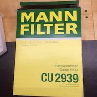 Mann cabin filter for VW/Audi **new in box** St. Thomas, N5R 6M4