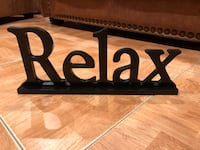 Relax Sign Miami, 33196