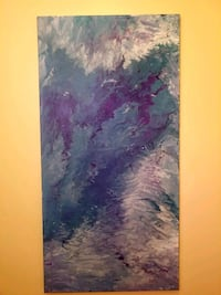 Modern / contemporary original abstract painting Evansville, 53536