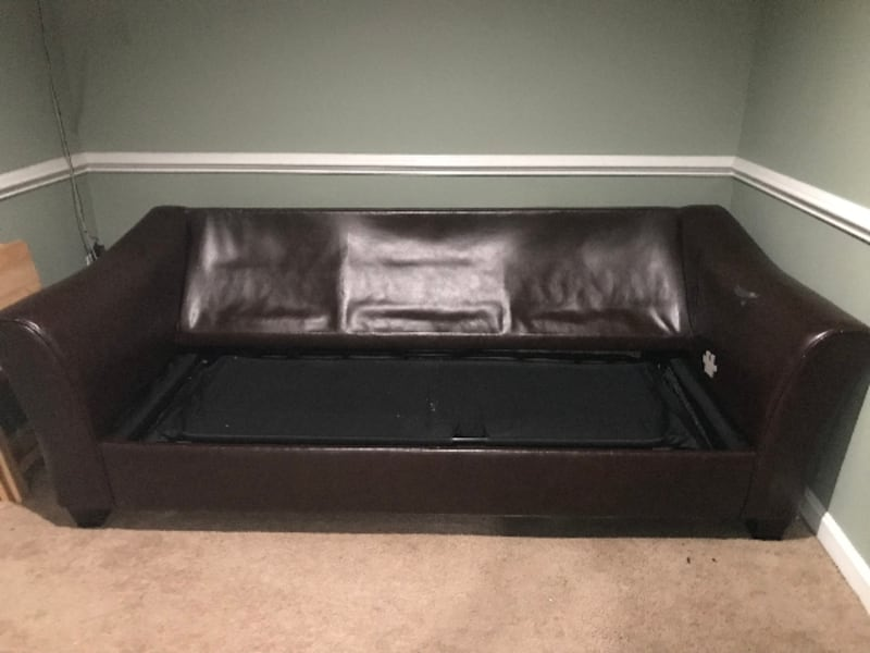 Convertable Sofa Bed (2 pieces couch set) 8