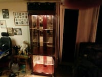 brown wooden cabinet with shelf Martinsburg, 25404