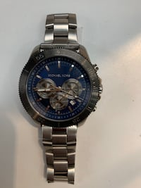 Men's Gun Metal Michael Kors Watch For Sale!
