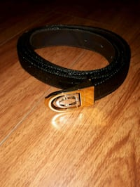 black and brown leather belt Toronto, M5A 1Z8