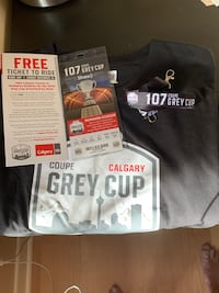 Grey Cup ticket  Calgary, T2G 4J6