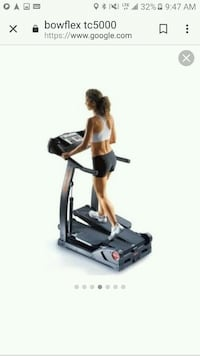 black and gray elliptical trainer Dallas, 75223