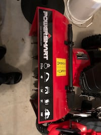 Black and red craftsman snow blower Great Falls, 22066
