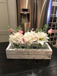 Centrepiece with Michaels flowers