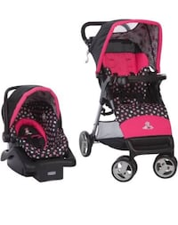 Minnie Mouse carseat stroller combo Los Angeles, 90501