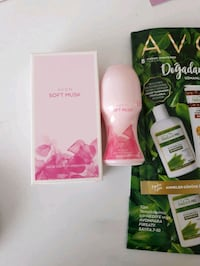 Avon soft musk set