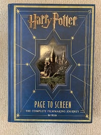 Harry Potter Page to Screen book. Ottawa