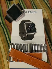 Fitbit blaze with two extra bands