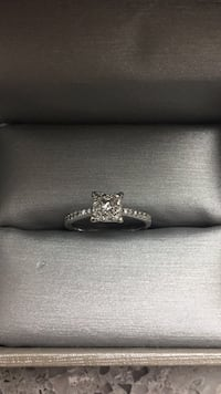 White gold diamond ring  Abbotsford, V2T 5G1