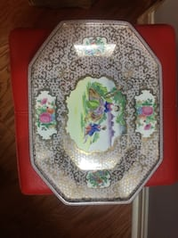 Asian Print Dish Alexandria