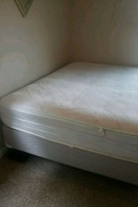 Full size mattress,box springs and rails South Bend, 46628