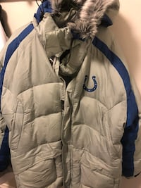 Indianapolis Colts Reebok on field feather down coat Spokane, 99208