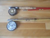 2 Fly Fishing rods and reels, ideal for beginners  MONTREAL