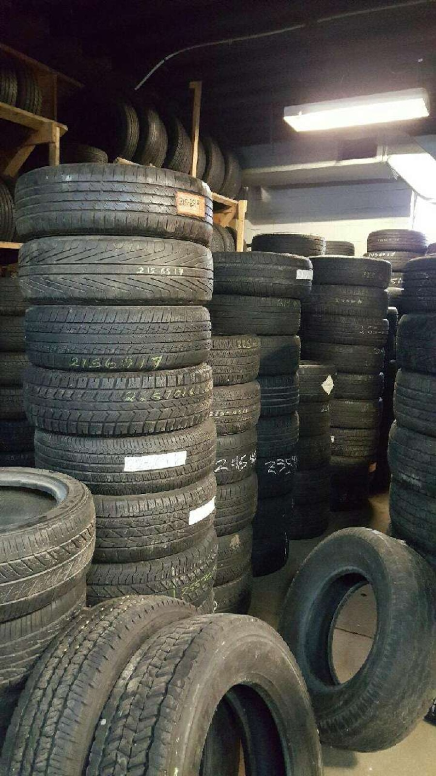 how to buy good used tires
