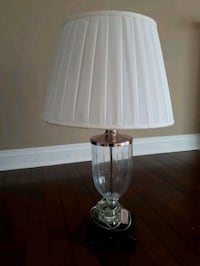 white and silver table lamp Mississauga, L5R