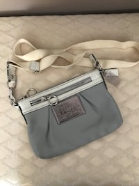 Coach leather cross body poppy collection  Lorraine