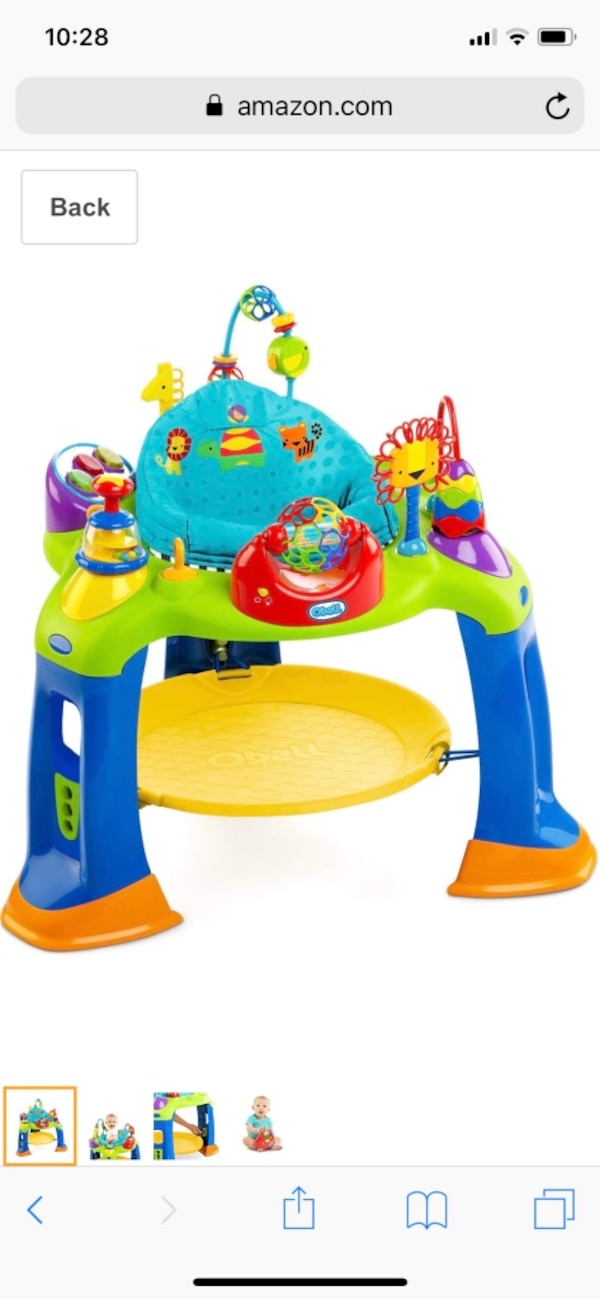 Oball Activity Bouncer