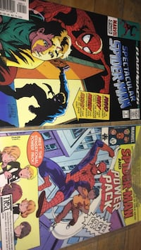 two Marvel Spider-Man comic books Montreal, H3W 2E7