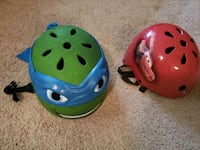 two boys (small) bicycle helmets. Good condition Wellington, 33414