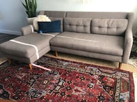 West elm sectional  Whittier, 90604