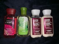 Bath and Body works minis - 4 for $10 Hamilton
