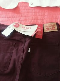two black and red Levi's jeans Fayetteville, 28304