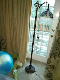 Floor lamp with glass shade Alexandria, 22315