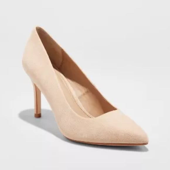 Women's Gemma Pointed Toe Heel Pumps - Blush