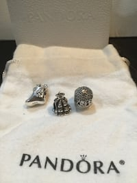 Set of 3 Authentic Pandora Charms Toronto, M1J 0B1