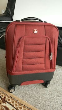 red and black Swiss Army luggage Vancouver, V6A