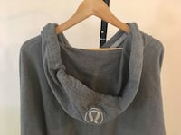 LULULEMON HOODY GREY SIZE SMALL/MEDIUM WOMENS CLOTHING NEW Edmonton, T6J 2B3