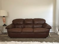 Quality Leather Sofa Sykesville, 21784