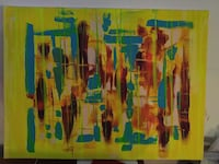 "PRICE DROP Oakville abstract painting art 24x32"" Oakville, L6L 5K2"