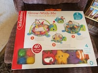Infantino Grow-With-me activity gym & ball pit box Albuquerque, 87121